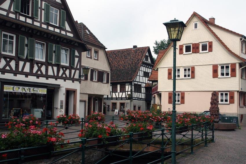 Schmucke Altstadt in Oberkirch