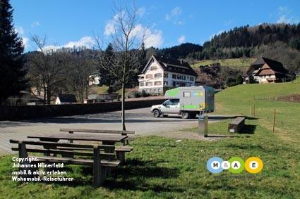 Stellplatz Nordrach
