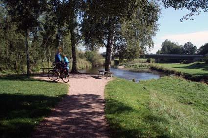 Brigach und Breg bringen die Donau zuweg - bei Donaueschingen
