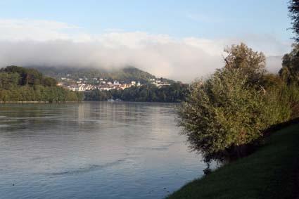 Am Rhein bei Waldshut