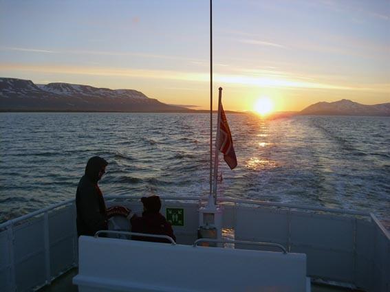 Walbeobachtungsfahrt in die Mitternachtssone von Akureyri/Ambassador (IS)
