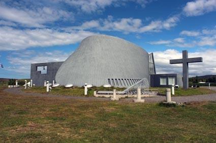 Kirche von Blöndúos (IS)
