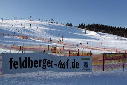 Skizirkus auf dem Feldberg