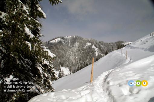 Winterwandern auf den Napf