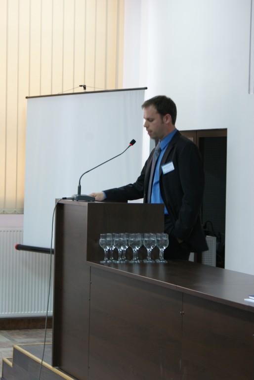Fabian Mühlthaler, Leiter des Deutschen Kulturzentrums Klausenburg