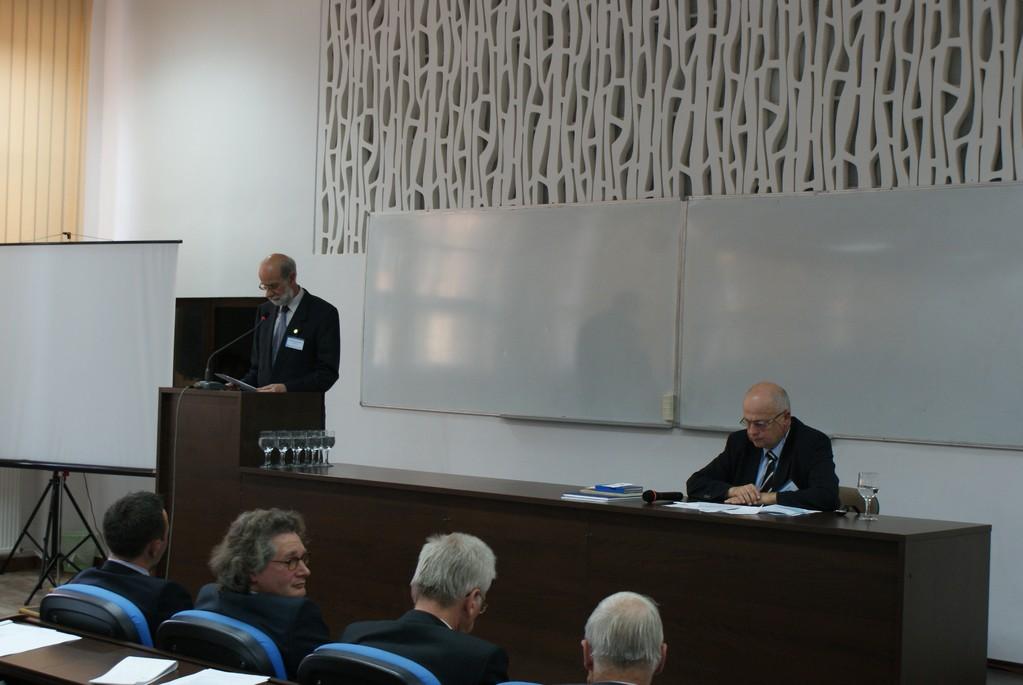 Doz. Dr. Wilfried Schreiber, Leiter des Deutschen Forums Klausenburg