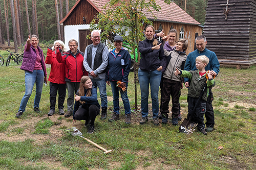 Der Zukunftswald ist am Wachsen | Baumprinzessin wieder aktiv