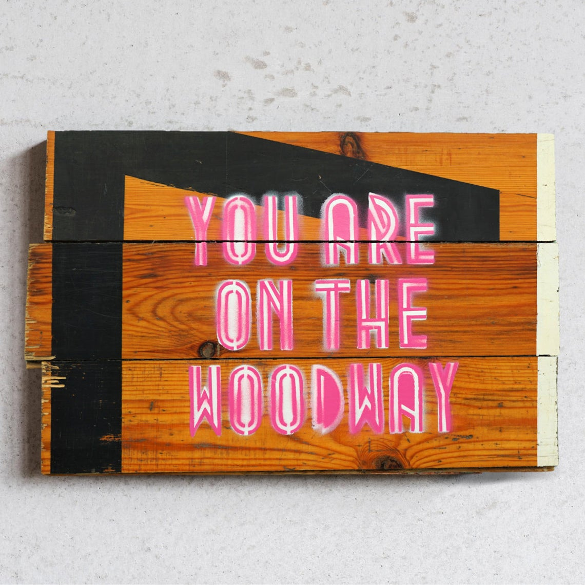 you are on the woodway