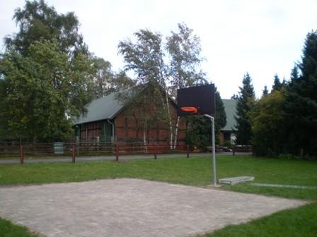 Unser Basketballplatz