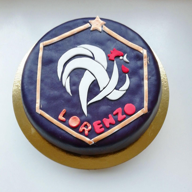 Gâteau FFF Football