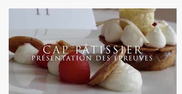 Ce que nous apprennent les premiers sujets du nouveau CAP pâtissier