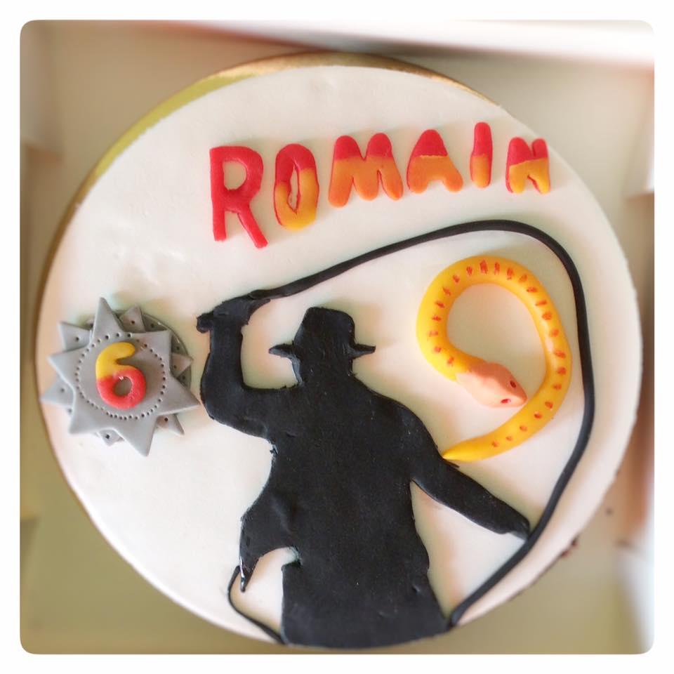 Gâteau Indiana Jones