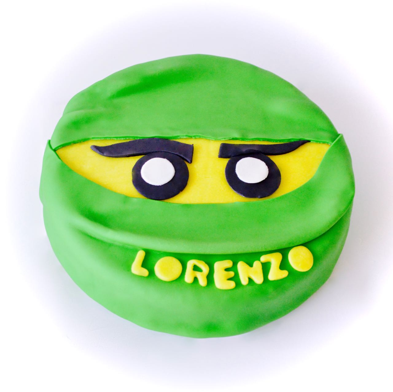Gâteau ninjago vert Lloyd