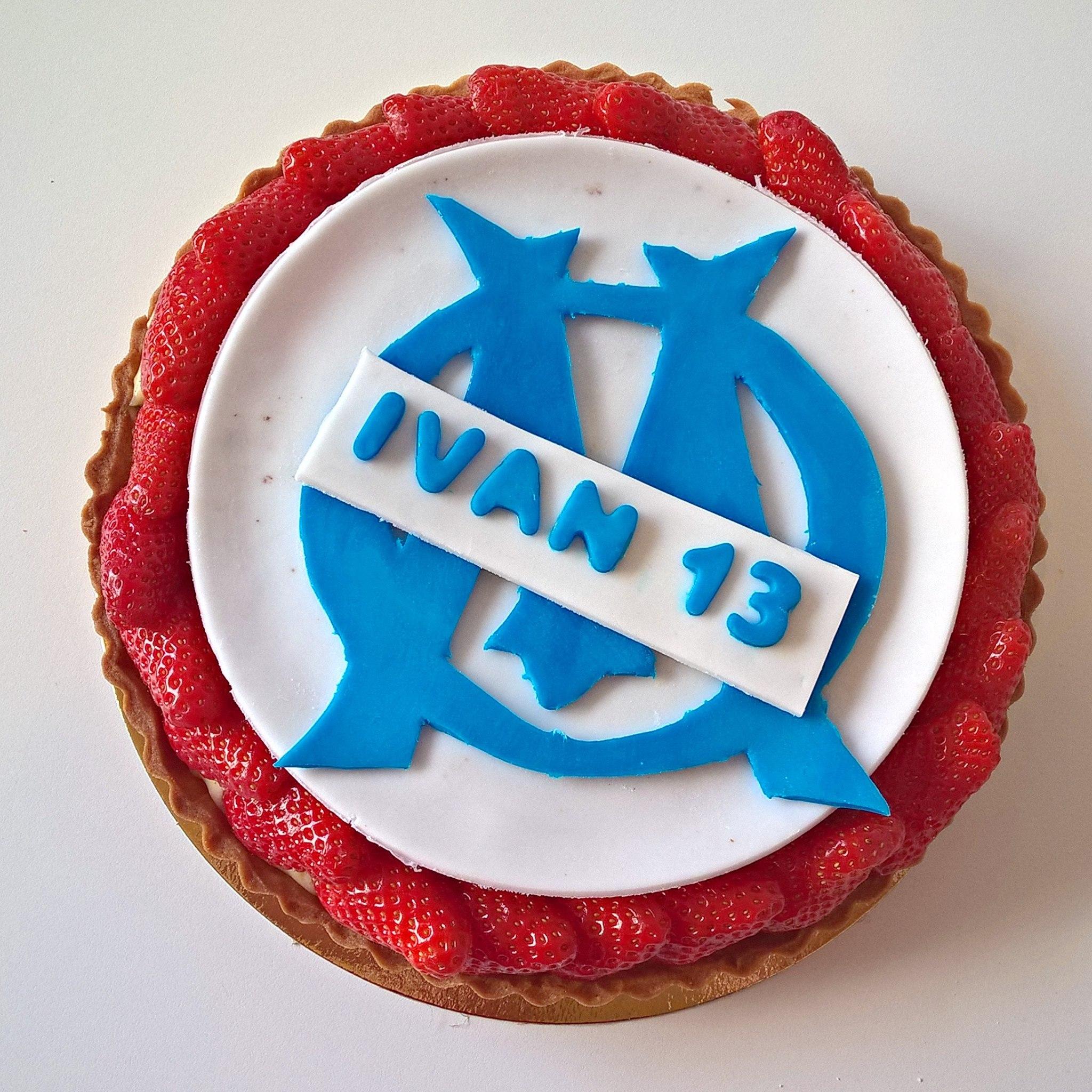 Gâteau Olympique de Marseille