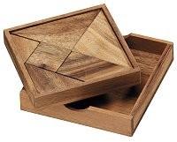 Tangram in legno