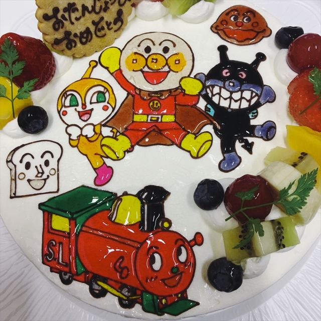 キャラクターケーキ カナリーカラメル