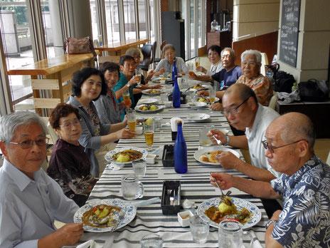 暑気払い食事会 (2017.8.26)