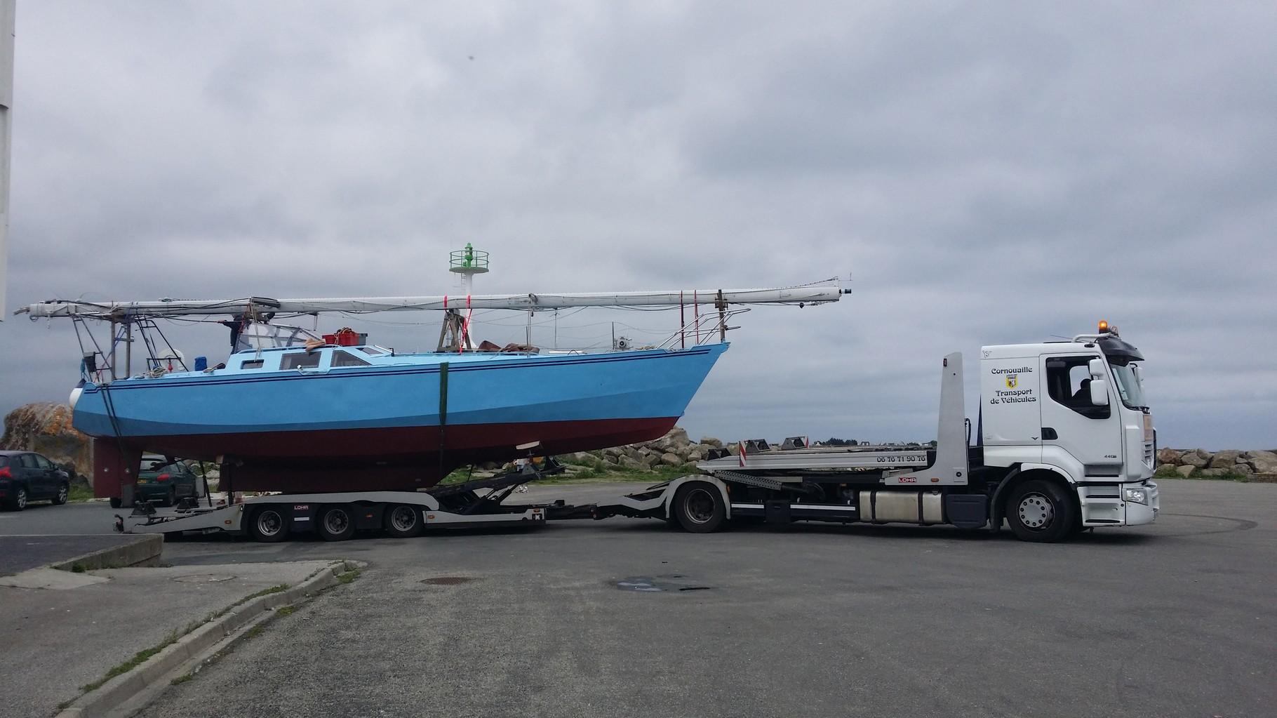Transport de bateau pour particulier