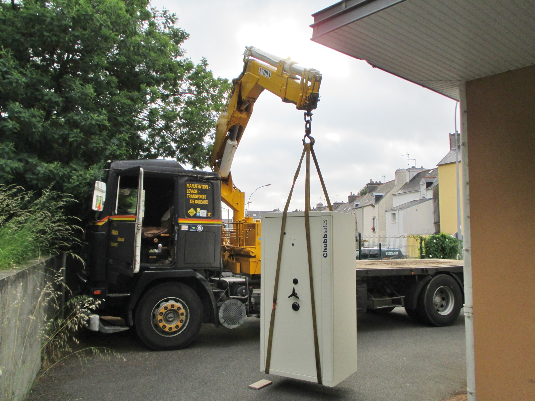 Manutention équipement - Coffre fort
