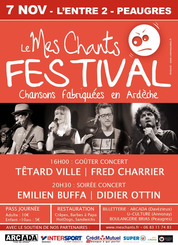 """La """"Mes Chante"""" affiche"""