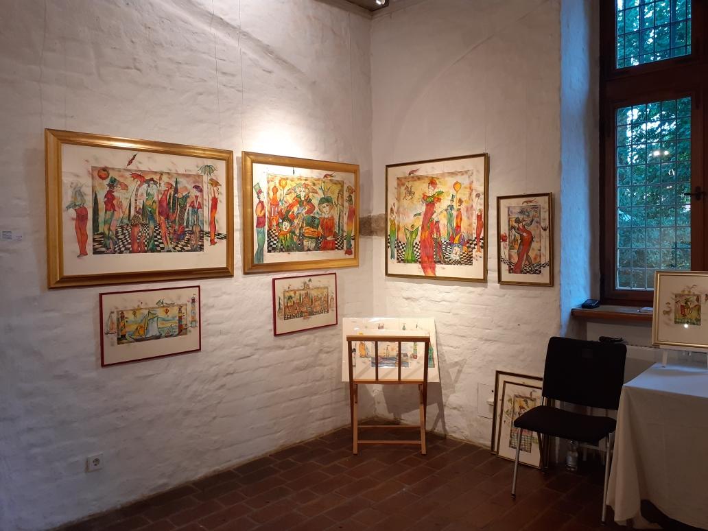 Wir stellen aus in Lugano die Galerie ist vom 1.4. bis 6.4. geschlossen