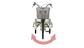 三輪自転車固定式