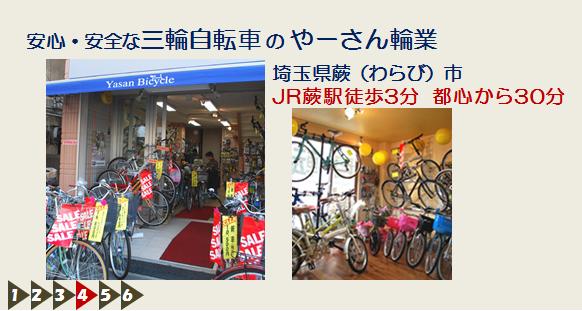 大人用三輪自転車