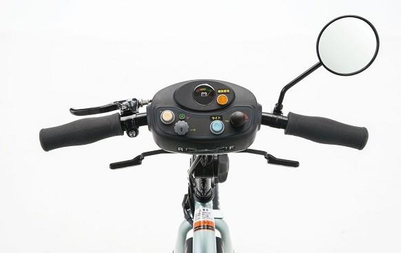 自転車のようなハンドル形状