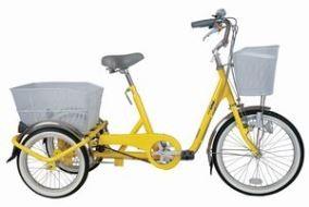 ミムゴ ノーパンク三輪自転車 3段ギアつき