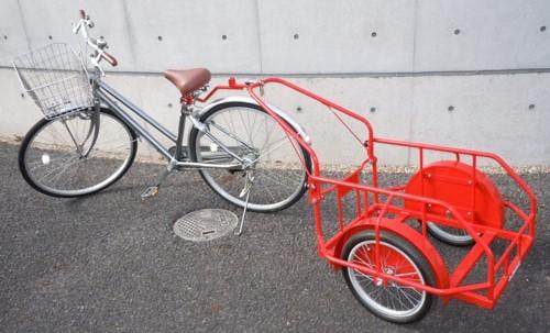 自転車用リヤカー ハコブンダー
