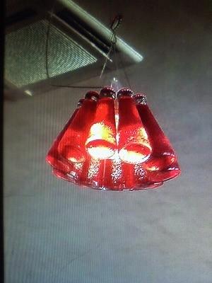 喫茶店で見つけたランプシェード