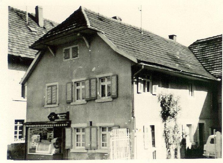 Bäckerei Rexer vor 1968, Foto: Walter Rexer