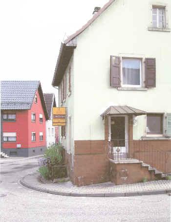 Das Haus heute, in der Freiolsheimer Straße