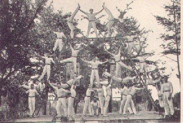 Turnverein TVM auf dem Jahre 1914