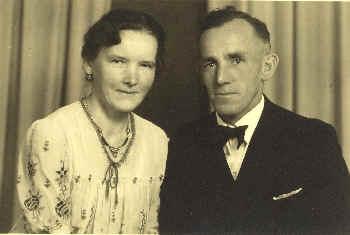 Emil Adam und zweiter Ehefrau Frieda, geb. Schell