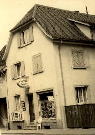 Weinhandlung Schindler in der Hauptstraße
