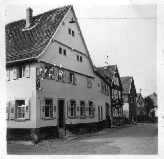 """Gasthaus """"Sternen"""", Hauptstraße"""