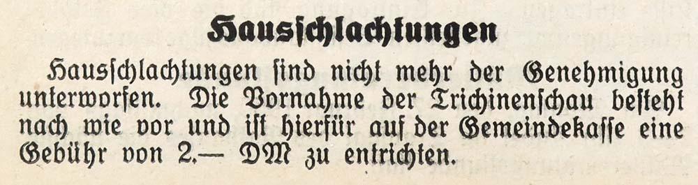 25.2.1950 Gemeindeanzeiger