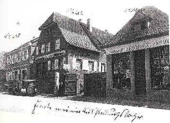 Tankstelle Werner in der Hauptstraße
