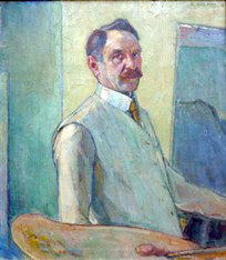 Selbstportrait 1913