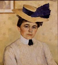 Mathilde Schindler 1907