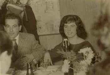 """der letzte""""obere Beck"""" mit Ehefrau Hilde, 1978"""