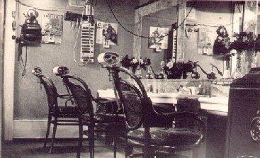 Friseursalon Müller 1935
