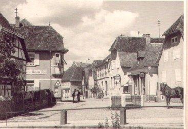 Hauptstraße unterhalb der Stadtmühle