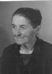 Lina Schmid, ca. 1945