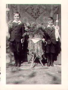 Alois Herzog und Bruder Herbert