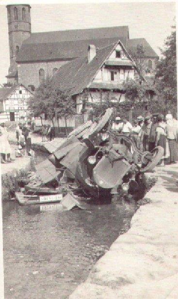 LKW-Unfall 1930/31 am Waldprechtsbach