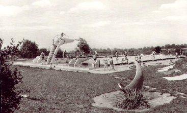 Trinkbrunnen im Schwimmbad Malsch