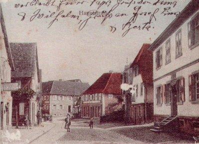 Schönbergersche Apotheke und Café Fritz, Hauptstraße