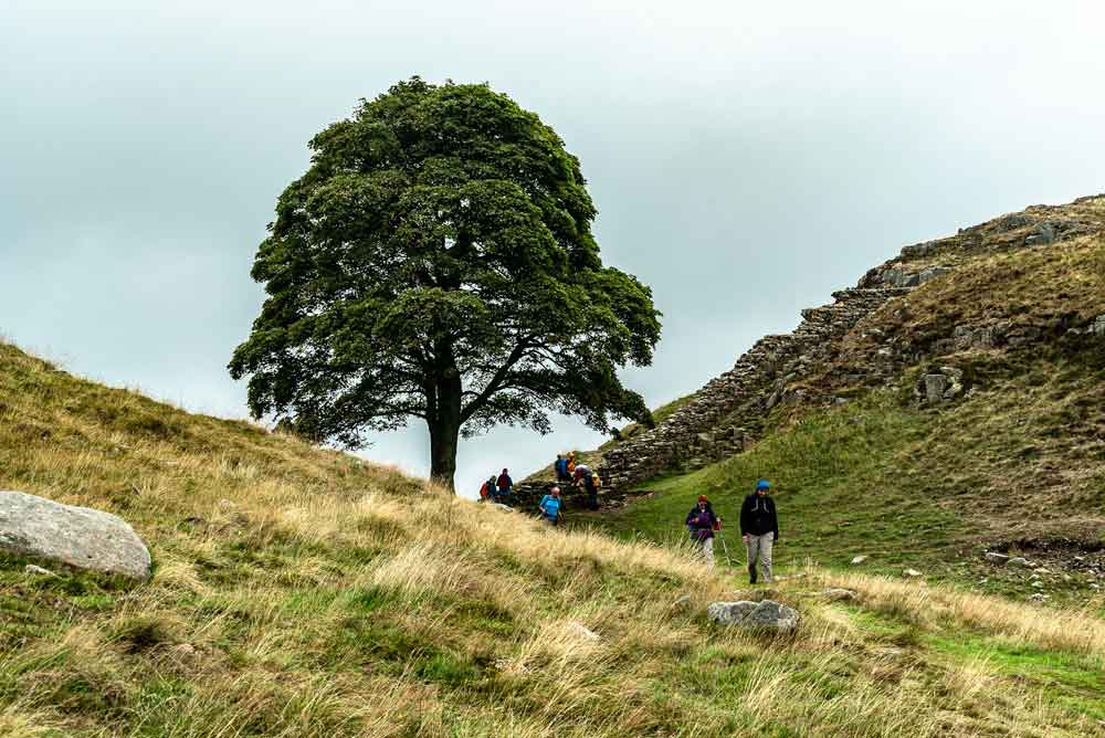 Hiking on Hadrians Wall